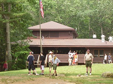 Old Boy Scout Camp In Rhode Island