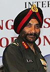 Director General Border Roads, Lt. Gen. Harpal Singh, at the International Seminar on 'Planning (cropped).JPG