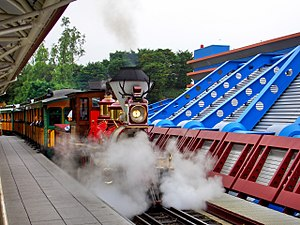 Disneyland Railroad (Paris) - Image: Disneyland Railroad WF Cody