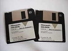 disquette ms-dos 6.22