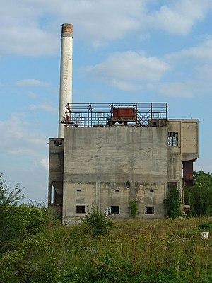 Shipton-on-Cherwell - Shipton cement works in 2005
