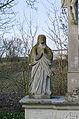 Dittelbrunn, Holzhausen, Friedhof, Kreuzigungsgruppe, 005.jpg
