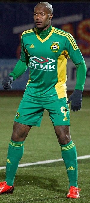 Djibril Cissé - Cissé with Kuban Krasnodar in 2013