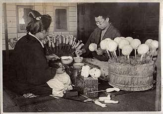 Japanese dolls - Doll makers, 1915
