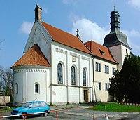 Dolní Břežany, kostel.JPG