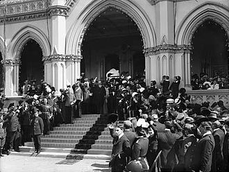 Independence of New Zealand - Lord Plunket declaring New Zealand a Dominion, 26 September 1907