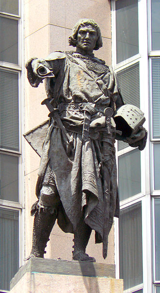 Diego López V de Haro - Statue of Diego Lopez V by Mariano Benlliure.