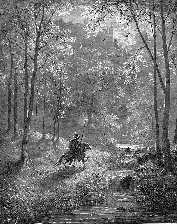 Don Quijote illustrated by Gustav Dore (Wikimedia Commons)