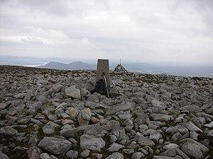 Raghtin More - Triangulation pillar on the summit