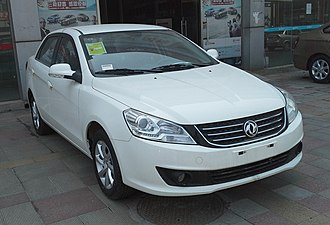 Dongfeng Fengshen S30 - Image: Dongfeng Fengshen S30 facelift 01 China 2014 04 28