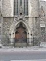 Doorway to Catholic Church, Clapham Park Road, London SW4 - geograph.org.uk - 835424.jpg