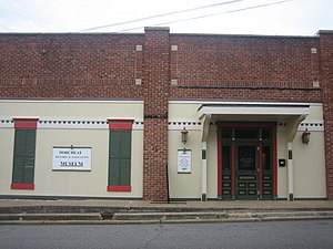 Dorcheat Historical Association Museum - The Dorcheat Historical Association Museum is located downtown at 116 Pearl Street in Minden, Louisiana.