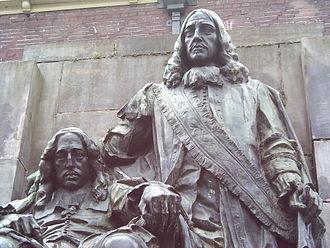 Cornelis de Graeff - Statue of De Graeffs nephews Johan and Cornelis de Witt in Dordrecht