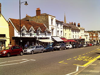 Dorking - South Street in Dorking in May 2009