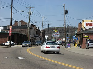 Bridgeport, Ohio - Downtown Bridgeport