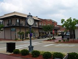 Downtown Thomasville tahun 2008.