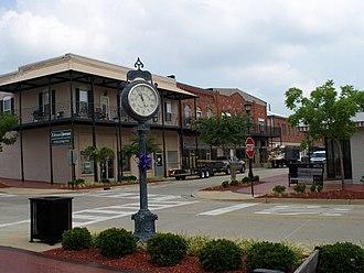 Thomasville, Alabama - Downtown Thomasville in 2008.