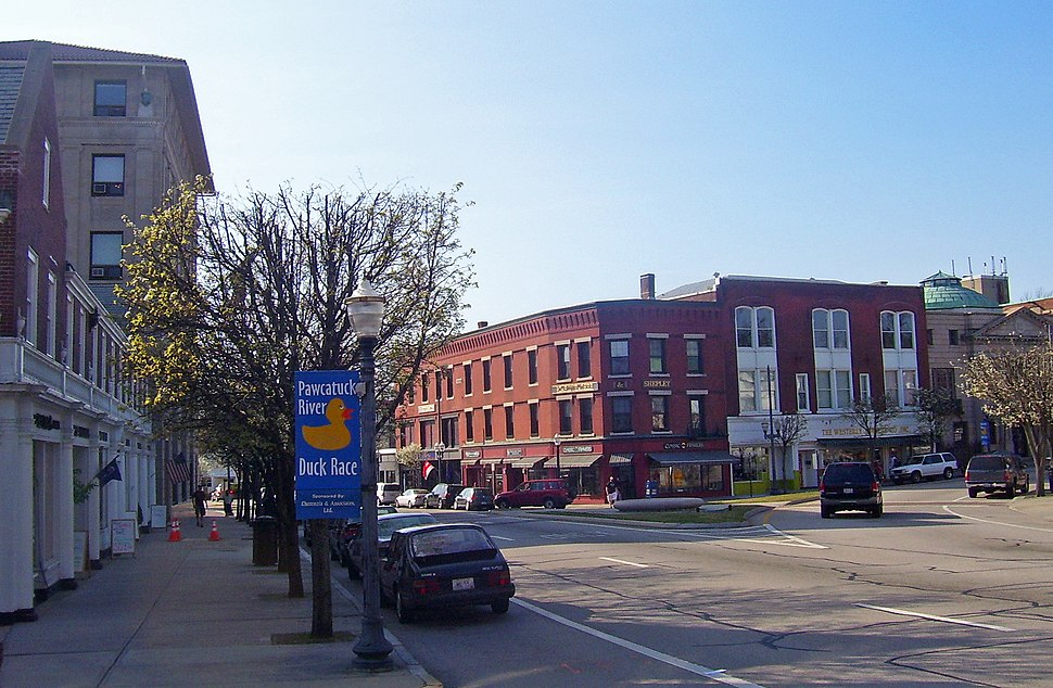 Downtown Westerly, RI