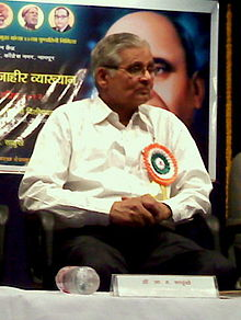 Dr .A. H. Salunkhe at Nagpur in 2012.jpg