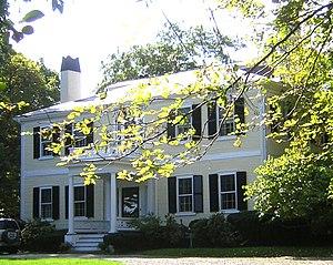 Milton Hill Historic District - Image: Dr Amos Holbrook House Milton MA