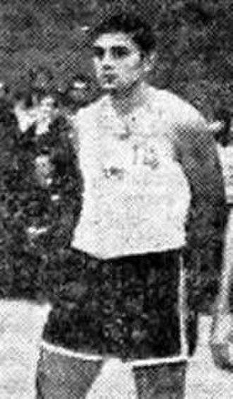 Dragutin Čermak - Čermak with Yugoslavia at the 1968 Olympics in Mexico City.