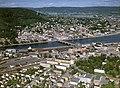 Drammen from the sky, around 1986.jpg