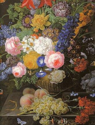 Johann Baptist Drechsler - Image: Drechsler Blumenstilleben