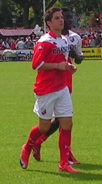 Dries Mertens - Mertens training with Utrecht in 2009.