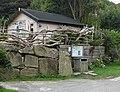 Driftwood fence, Cwm-yr-Eglwys - geograph.org.uk - 1513916.jpg