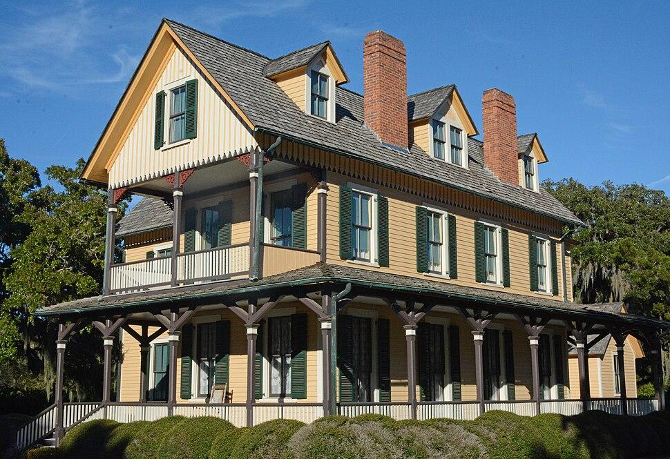 DuBignon house on Jekyll Island, Georgia