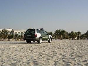 Dubai Police Force - Typical Dubai Police vehicle