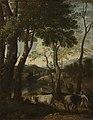Dughet - Landscape with a Cowherd, about 1637.jpg