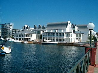 Kim Utzon - The Henry Dunker Culture Centre in Helsingborg, Sweden