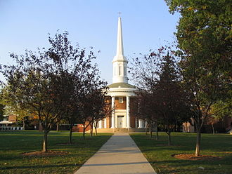 Alma College - Dunning Memorial Chapel