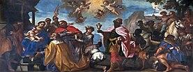 Duomo (Padua) - right arm of transept - Adoration of the Magi by Francesco Zanella.jpg