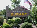 Durant, Iowa sign.JPG