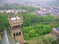 Durham cathedral, view from tower.jpg