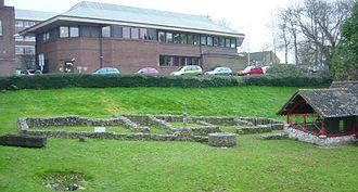 Durnovaria - Roman town house ruins