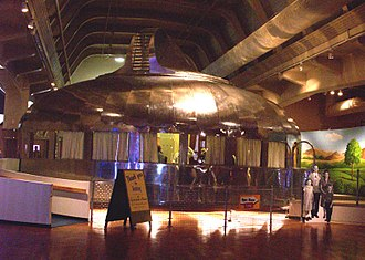 The Henry Ford - Buckminster Fuller's prototype Dymaxion house, in the Henry Ford Museum