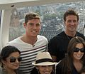 E! shoot with Ryan Lochte Conor Dwyer on the London Eye (7760770614).jpg