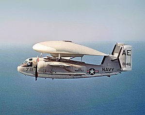 VAW-121 - VAW-121 E-1B Tracer in 1971