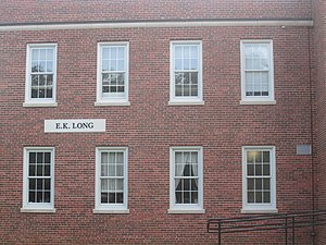 Earl Long - The Earl K. Long Gymnasium at the University of Louisiana at Lafayette
