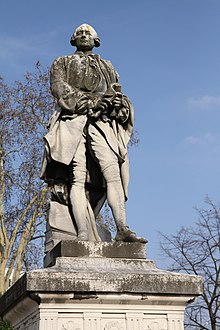 Statua di Claude Bourgelat a Maisons-Alfort(Francia)