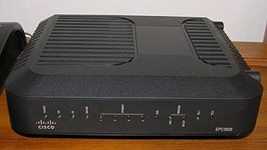 Residential gateway - Cisco EPC3925 EuroDOCSIS 3 wireless residential gateway with embedded digital voice adapter