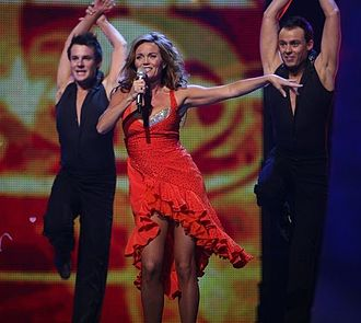 Norway in the Eurovision Song Contest - Image: ESC 2007 Guri Schanke