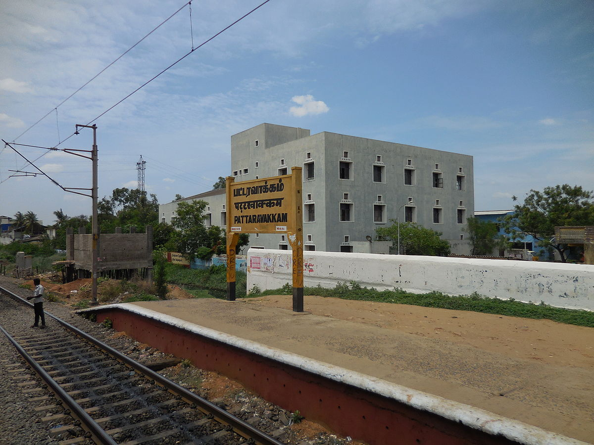 Pattaravakkam railway station