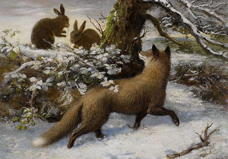 File:Ebenetzer Downard Winterlandschaft mit Fuchs und Hasen.jpg