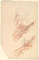 Ecorché- Two Studies of the Muscles of the Shoulder and of the Arm, Raised MET DP823933.jpg