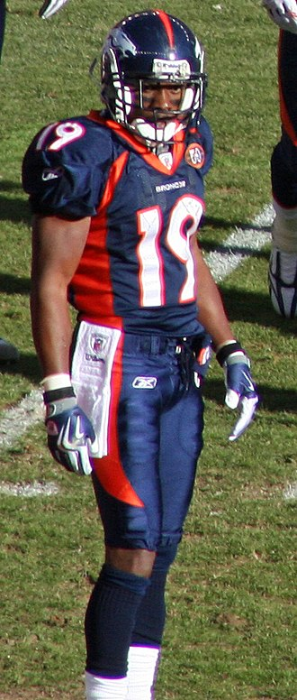 Eddie Royal - The versatile Eddie Royal played four seasons for the Broncos. Royal is pictured at a game in December 2009.