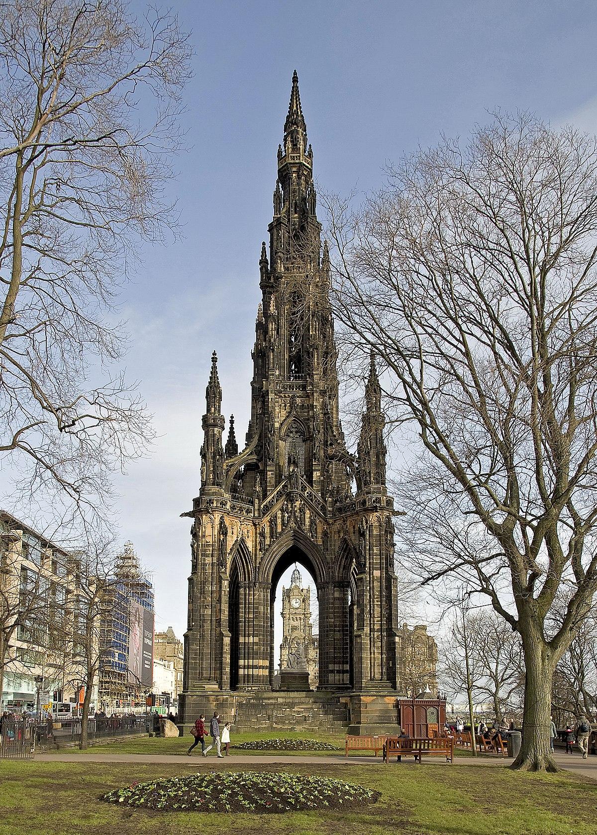 Scott Monument - Wikipedia
